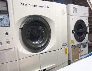 ドライクリーニング洗濯機