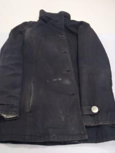 綿のジャケットにカビ