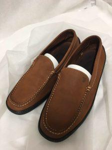 革靴 シミ クリーニング 改善 色補正
