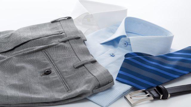 服のクリーニングのイメージ