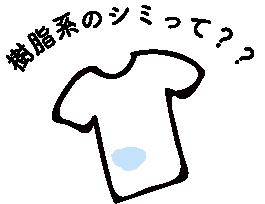 樹脂系のシミ