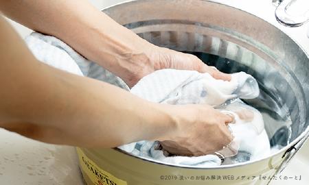 ベビー服を洗うときの注意点