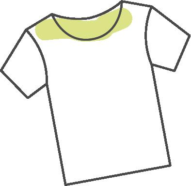 3.衣類の黄ばみに繋がってしまう