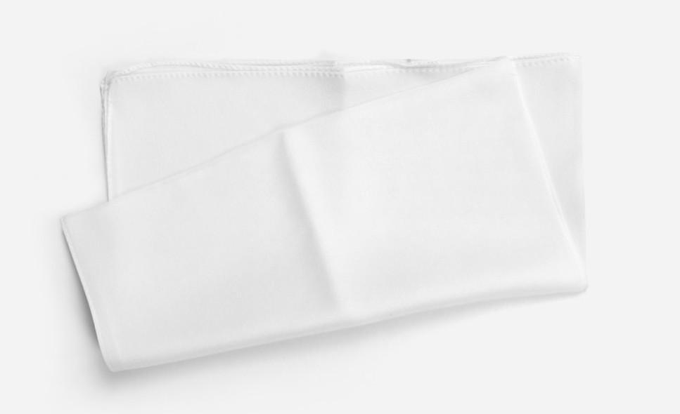 2.テカリを防止するための当て布を用意する。