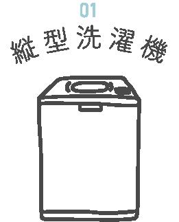 縦型洗濯機は使い勝手重視!
