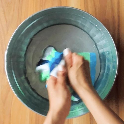 すすぎ洗いしましょう。